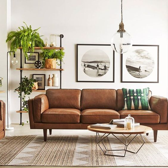 Sofa Set Cleaning: How To Clean Leather Upholstery In A Natural Way